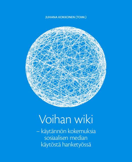 Voihan wiki -kirjan kansi.