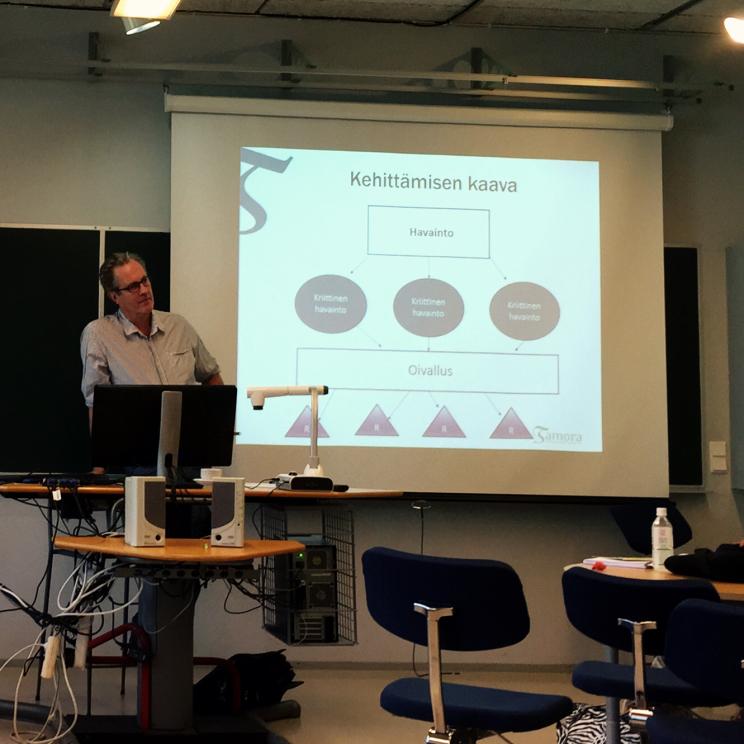 Karl-Erik Michelsen ja kehittämisen kaava.