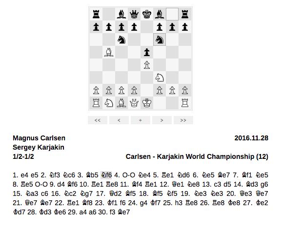 Embed Chessboard -kuvakaappaus.